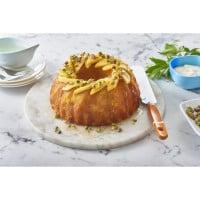 Mango And Pistachio Cake With Lemon Syrup