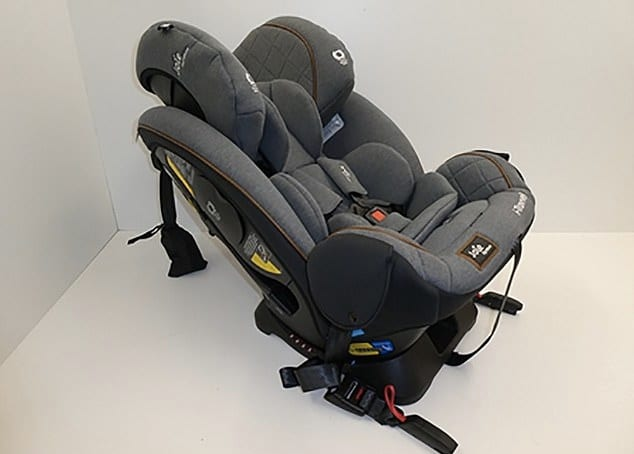 Joie I-Travvel Car Seat fails safety test