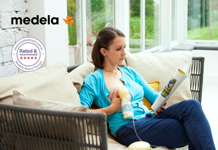 Image of the Medela Swing Flex™ Breast Pump Product Review with star rating