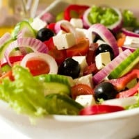 Greek Salad Traditional Style