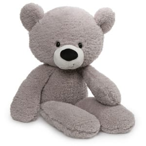 GUND Fuzzy Bear in Grey
