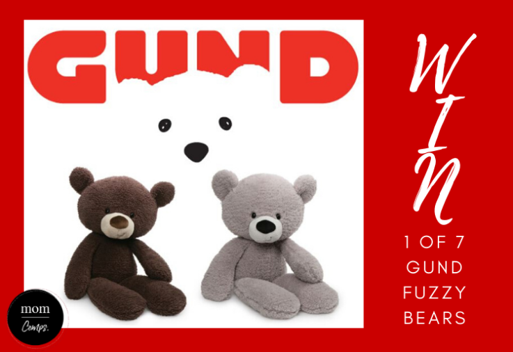 GUND Fuzzy Bear promotional poster