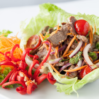 Thai Beef Salad with Peanuts