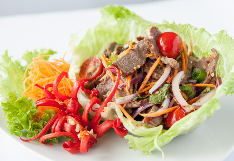 Ellen reviewed Thai Beef Salad with Peanuts