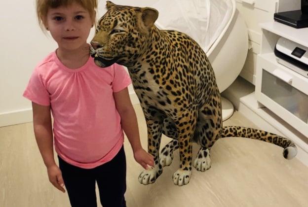 ar animals leopard
