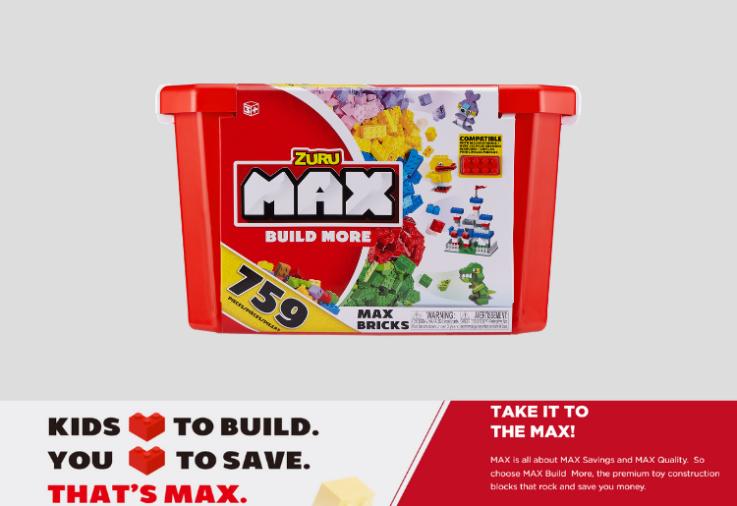 Max Build building block set