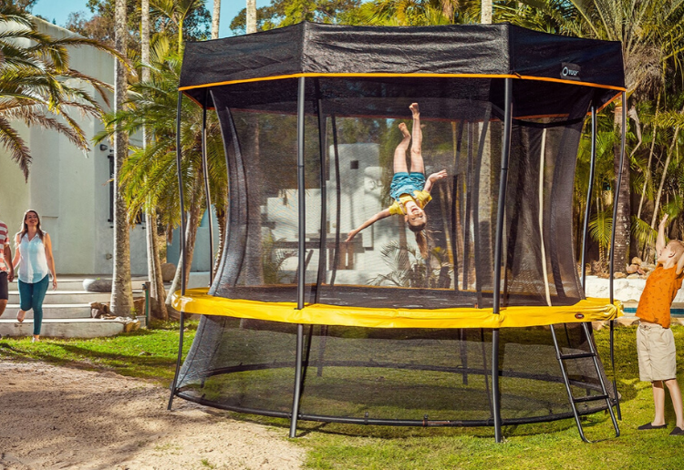 WIN a Vuly Play Lift 2 Trampoline and Keep Your Kids Entertained During Lockdown