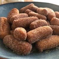 Donuts! Finger Donuts with Cinnamon Sugar