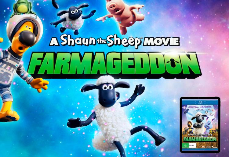 Win A Shaun the Sheep Movie: Farmageddon on DVD