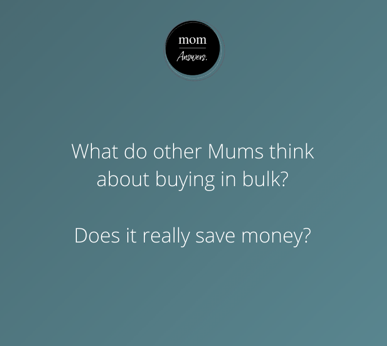 Image of uno home loans mom answers bulk buying