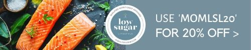 Image of the 20% off coupon code button 28 day low sugar lifestyle program