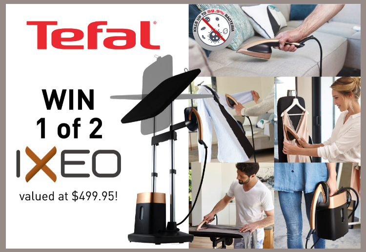 WIN 1 of 2 Tefal IXEO All-In-One Solutions