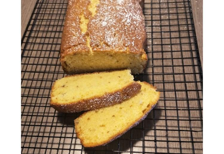 Nutty Orange Tea Cake Recipe