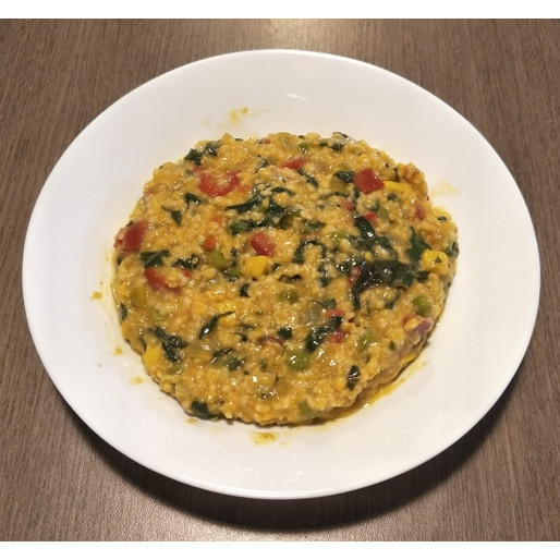 Vegetable Oats with Turmeric Recipe