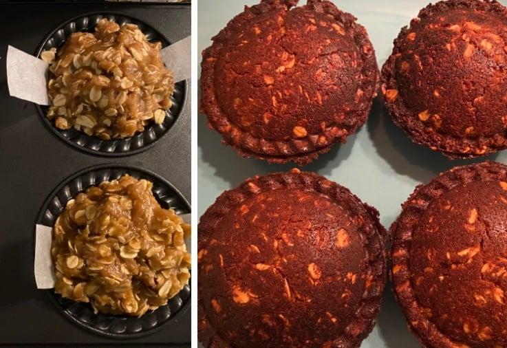 pie maker anzac biscuit pie