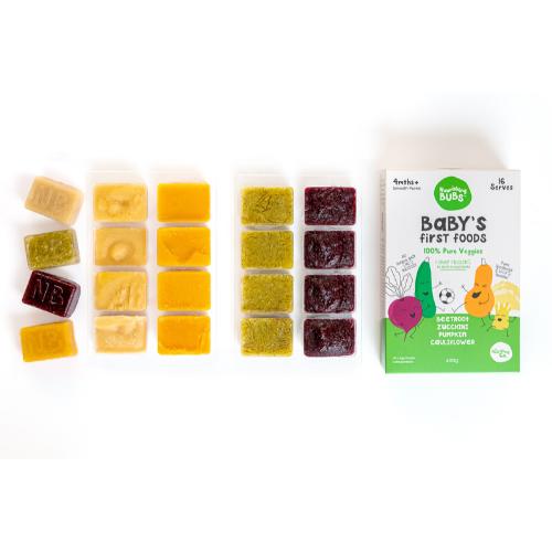 Image of Nourishing Bubs Baby's First Foods Veggies