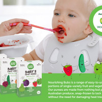 Nourishing Bubs Makes Bub's First Foods Simple