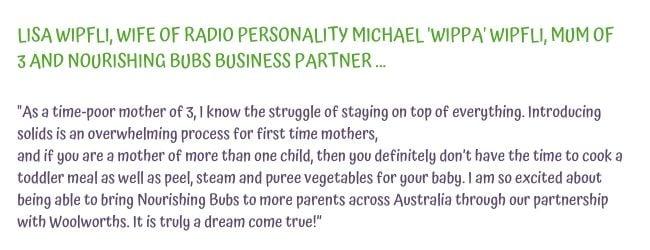 nourishing bubs business partner lisa wipfli talks about why she loves nourishing bubs range