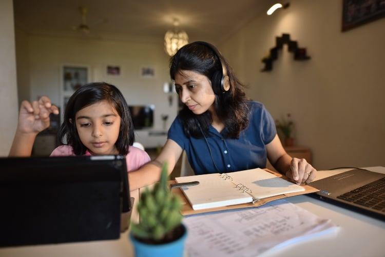 homeschooling children