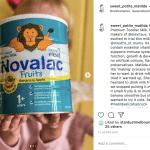 Social Sharing for Novalac Fruits Toddler Milk Review