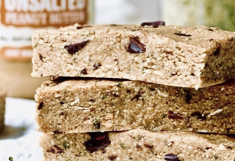 Unsalted Peanut Butter Protein Bars
