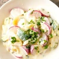 Potato Salad Recipe with a Crunch