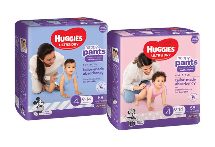 Image of huggies ultra dry nappy pants for the huggies ultra dry nappy pants review