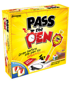 Pass The Pen family board game