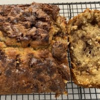 The Best Ever Apple Fritter Bread