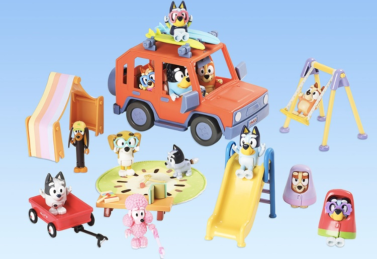 Brand New Range Of Bluey Toys To Launch Soon