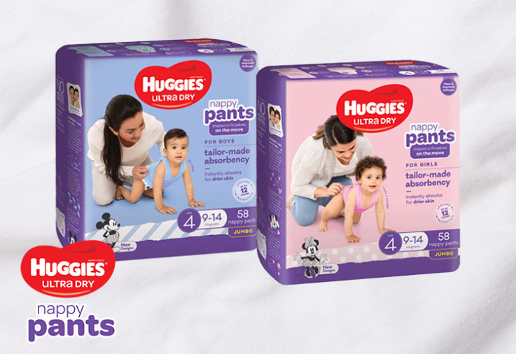 Image of Huggies Ultra Dry Nappy Pants Review