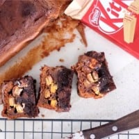KitKat Mousse Brownies