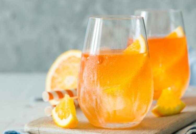 Winter Wellness Citrus Spritzer