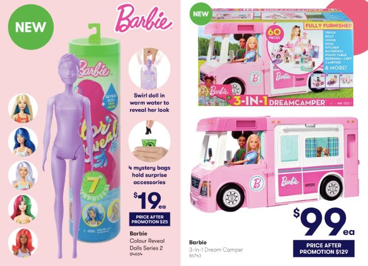 barbie reveal dolls