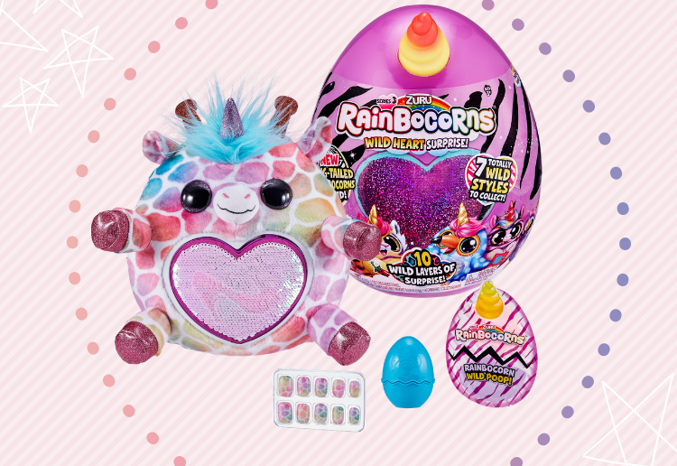 WIN 1 of 5 Rainbocorns Series 3 Prize Packs!