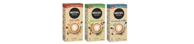 NESCAFE Gold Plant Based Lattes Review_Product Images