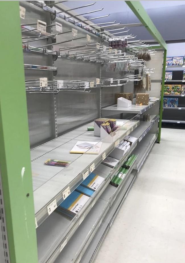 empty kmart shelves 3