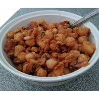 Chickpeas and Potato Salad Recipe