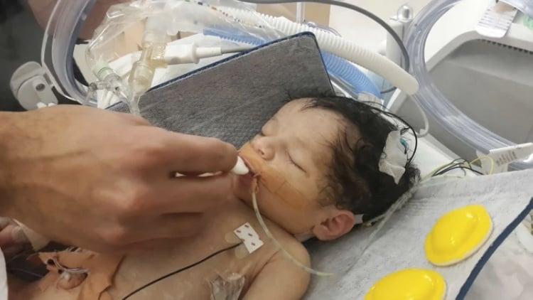 baby amelia hospital