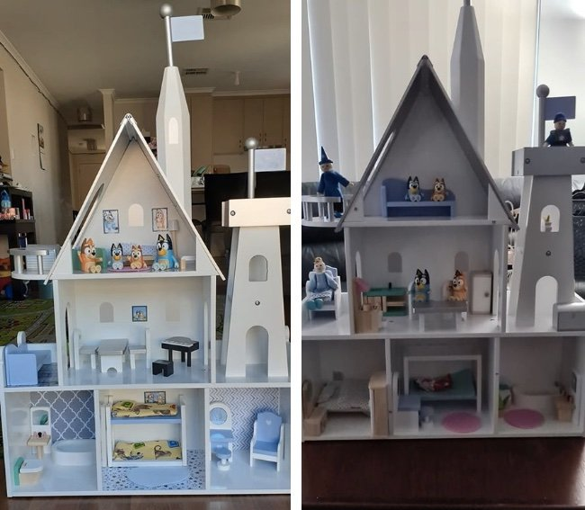 Bluey Playhouse hack castle