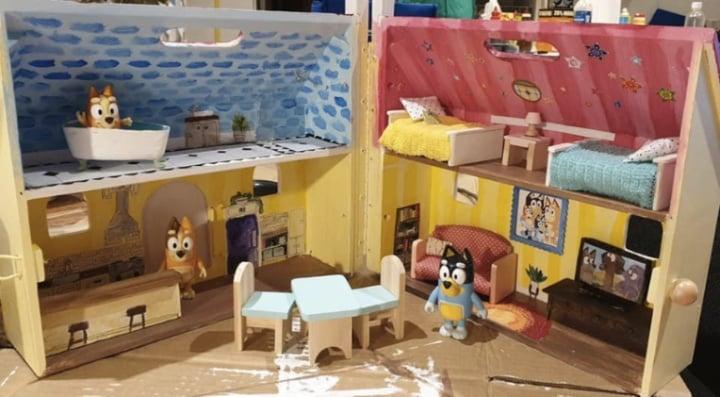 Bluey Playhouse hack dollshouse