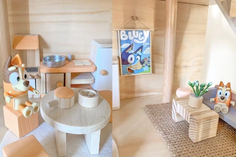 Bluey Playhouse hack indoors