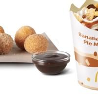 McDonalds Launches Doughnut Balls And The New Banana Caramel Pie McFlurry