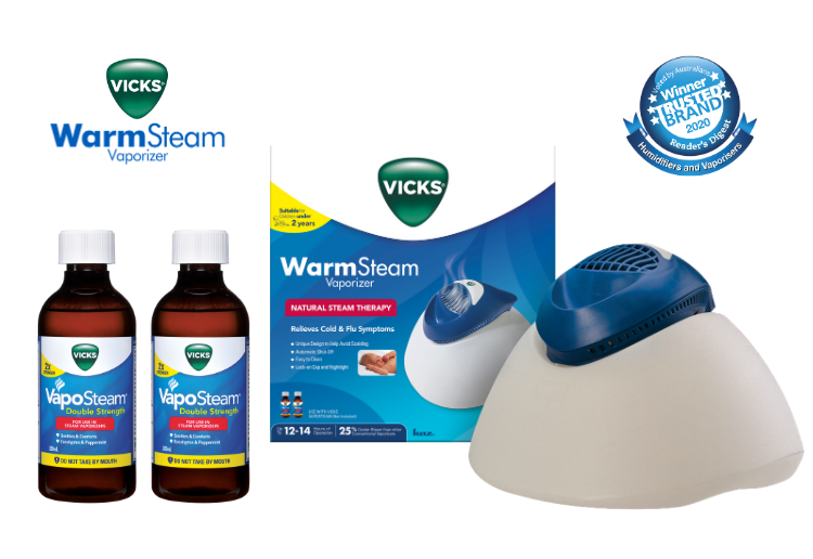 WIN 1 of 5 Vicks Winter Prize Packs