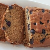 Bananna And Blueberry Cake