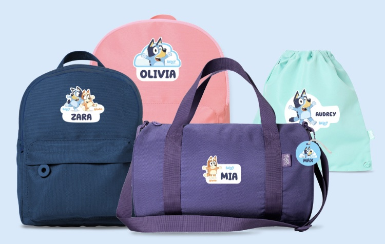 bluey bags