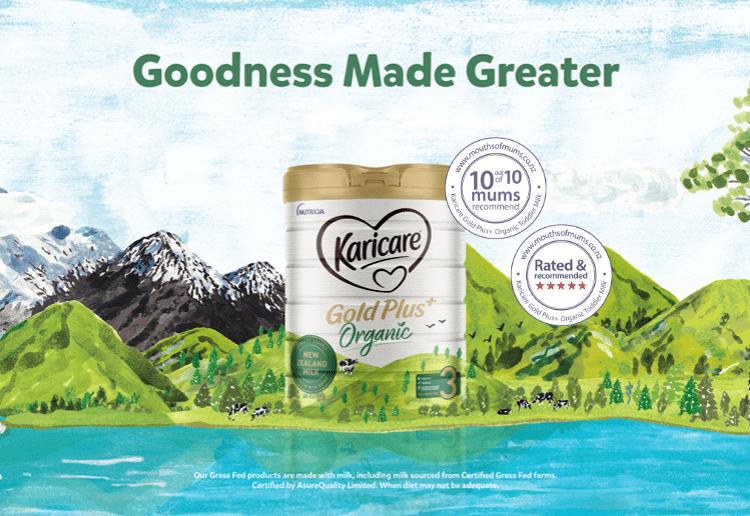 Karicare Gold Plus+ Organic Toddler Milk New Zealand Mums