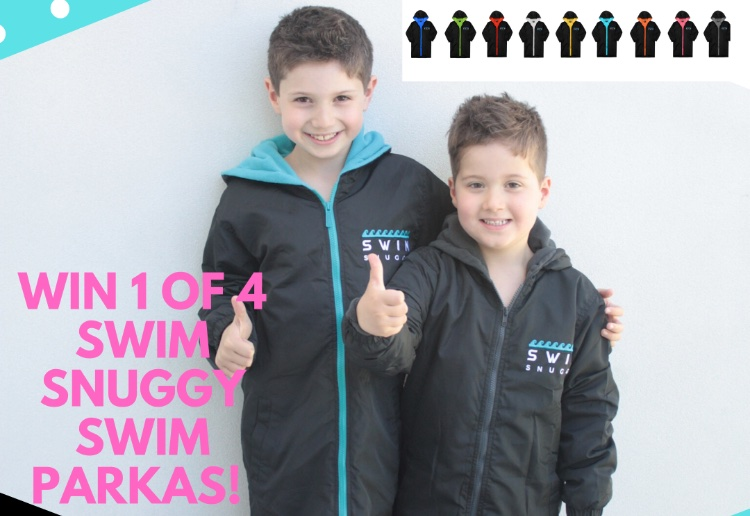 Win 1 of 4 Funky Swim Snuggy Swim Parkas