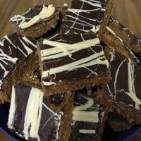 Crunchy Chocolate No Bake Slice