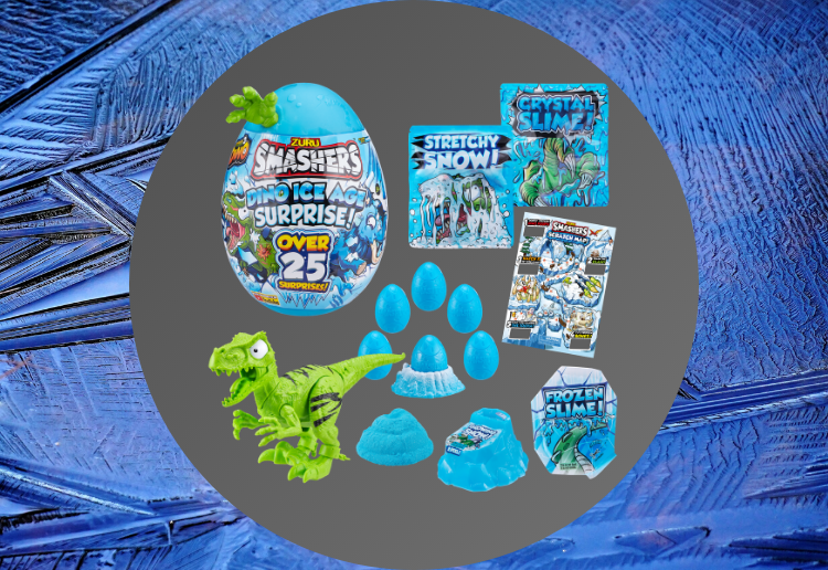 WIN 1 of 6 Smashers Dino Ice Age Prize Packs